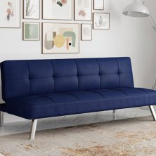 unexpected overnight guests? these futons transform from a sofa to a bed in seconds