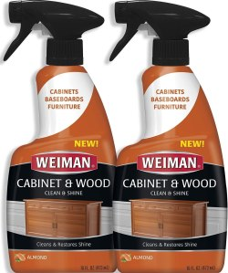 weiman furniture polish & wood cleaner spray, how to clean wood furniture