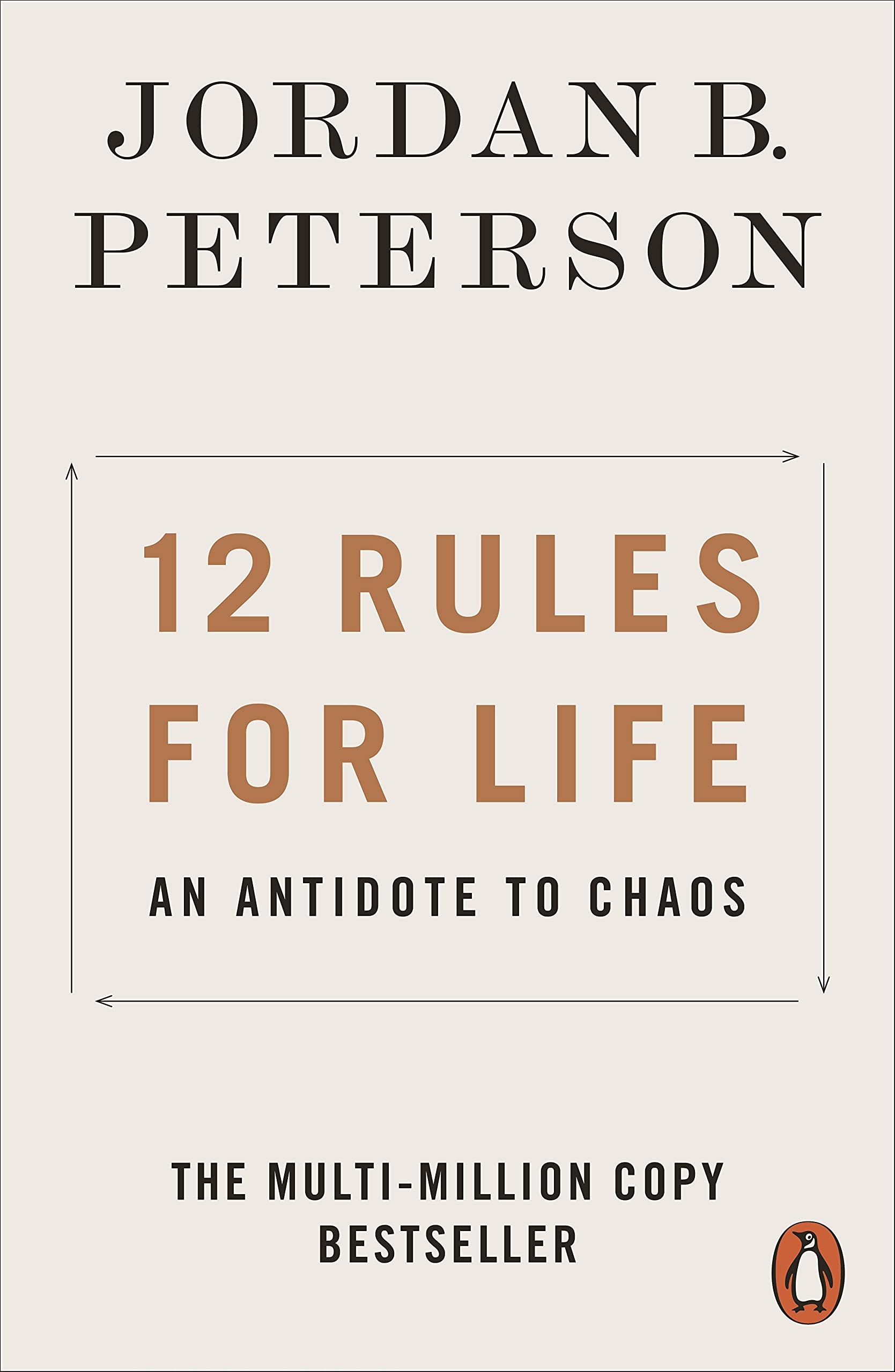 12 Rules for Life: An Antidote to Chaos book cover