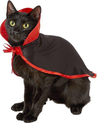 . Frisco Vampire Cape Cat Costume
