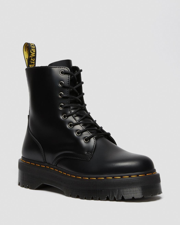 Dr Martens Jadon Smooth Leather Platform Boots