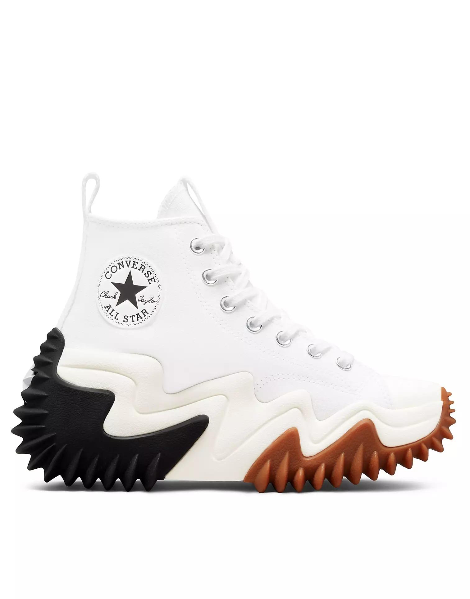 Converse Run Star Motion Hi Canvas Platform Sneakers