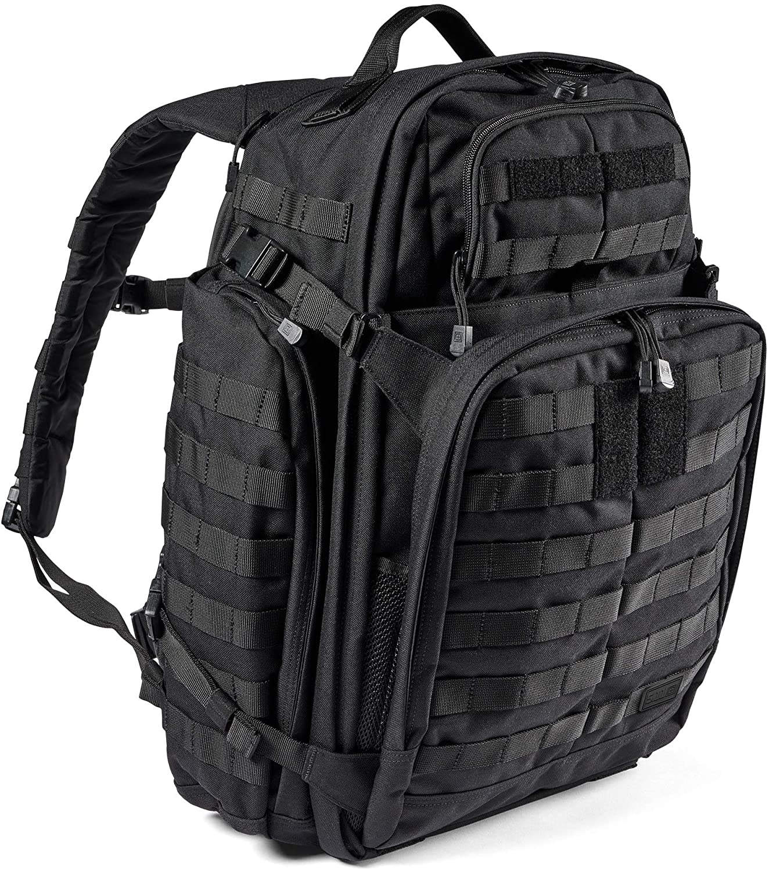 5.11 Tactical Backpack in black; best survival backpack