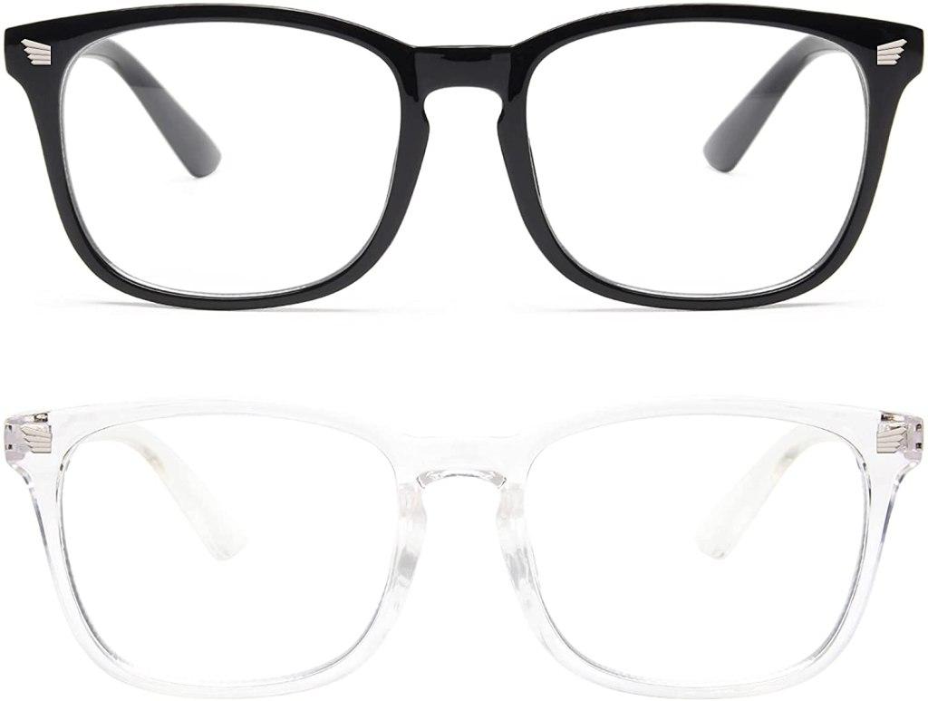 Stylish Blue Light Glasses on Amazon