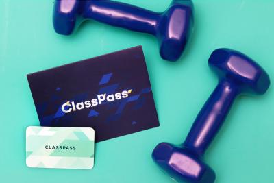 best virtual gifts - classpass gift card