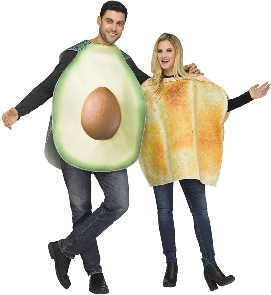 Fun World Avocado & Toast Costume for Adults