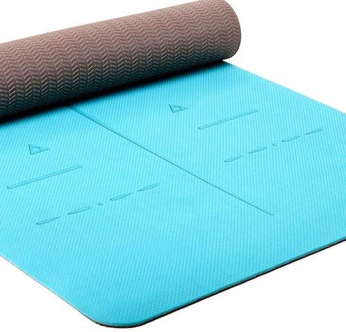 Heathyoga Body Alignment System Yoga Mat