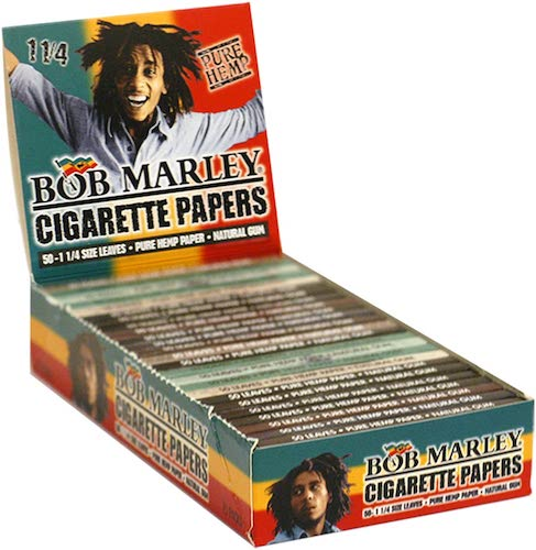 Bob Marley Cigarette Rolling Papers