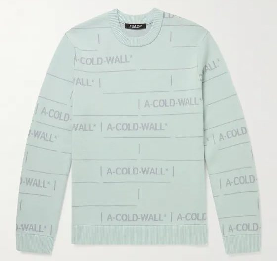 A-Cold-Wall-Logo-Sweater