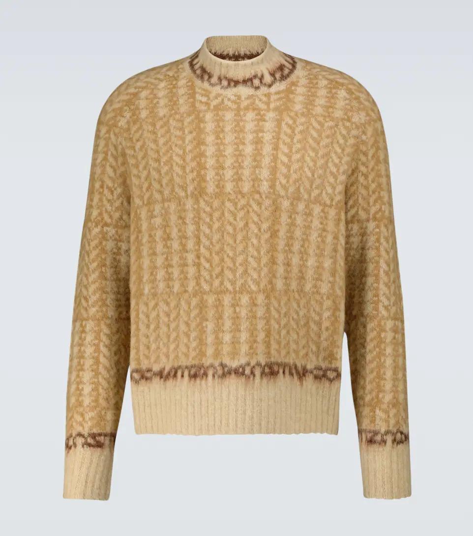 Acne-Studios-Jacquard-Crew-Neck-Sweater