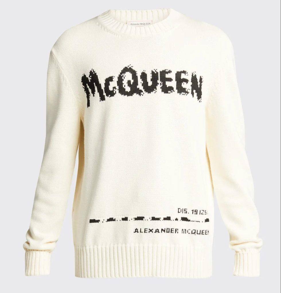 Alexander-McQueen-Graffiti-Logo-Sweater