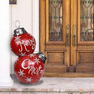 alpine corporation alpine christmas ball ornament