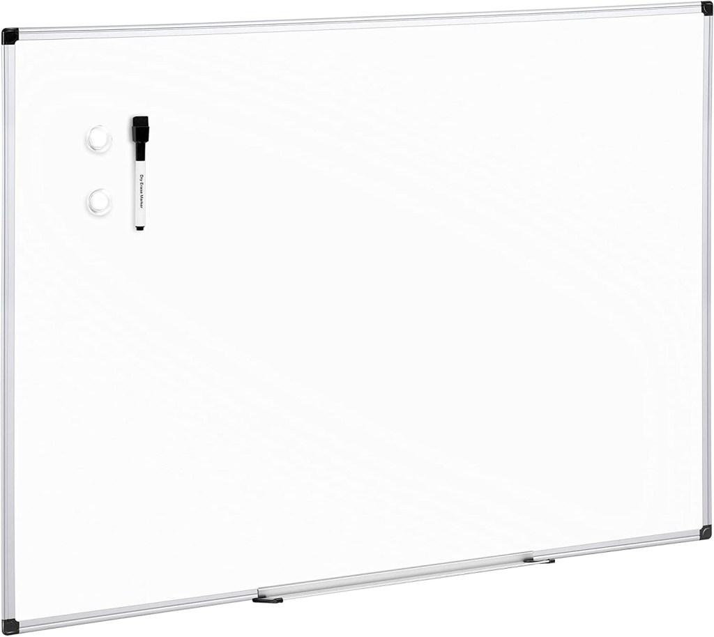 Amazon Basics Magnetic Dry Erase White Board