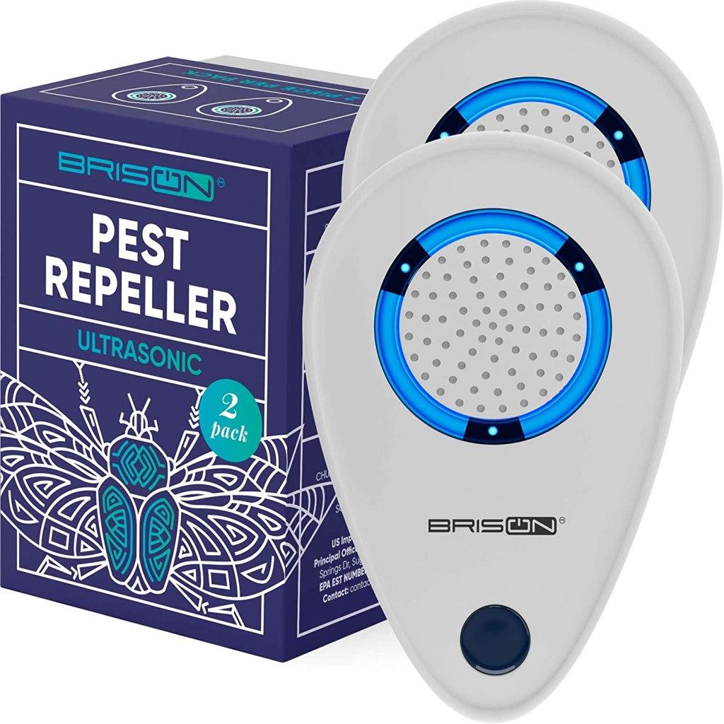 BRISON Ultrasonic Pest Repellent Plug in