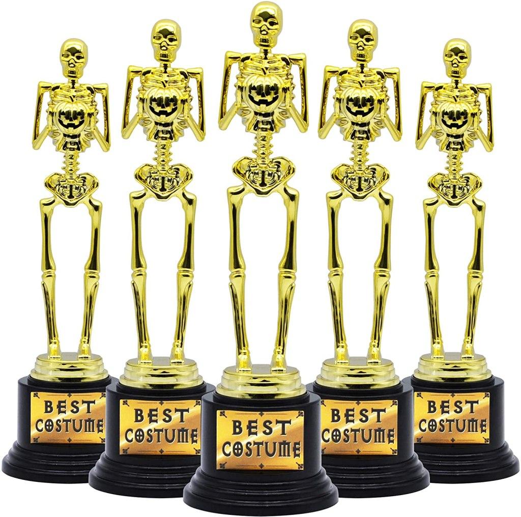 JOyin Best Costume Skeleton Trophy