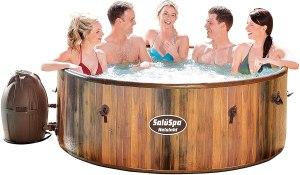 bestway saluspa helsinki airjet inflatable hot tub