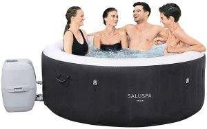 inflatable hot tubs bestway saluspa miami