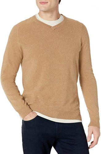 Billy Reid Saddle V Neck Sweater