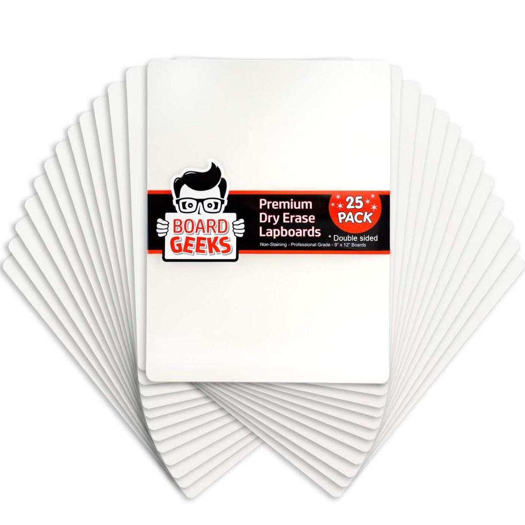 Board Geeks Dry Erase Lapboard