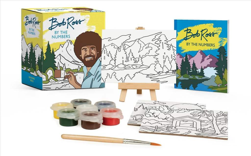 bob ross paint by number best white elephant gifts