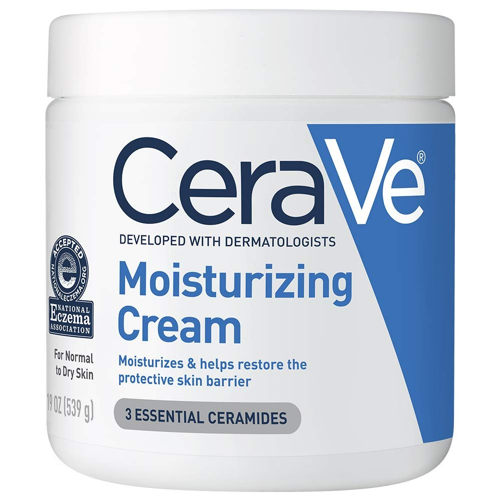CeraVe Moisturizing Cream, best lotion for dry skin