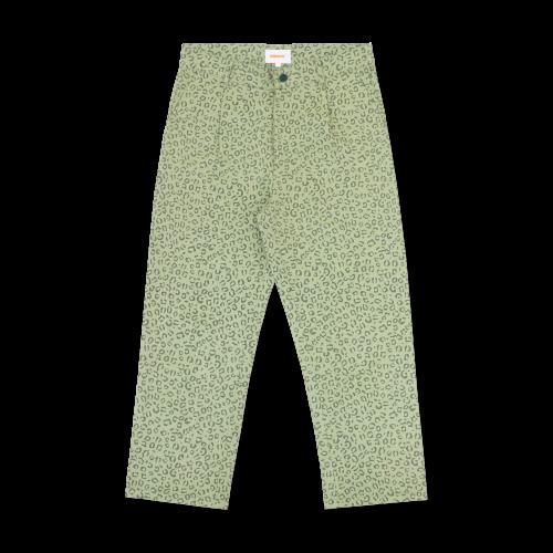 Checks Downtown Leopard Print Pleated Pants