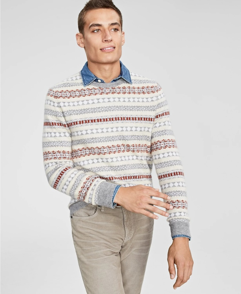 Club-Room-Fair-Isle-Cashmere-Sweater