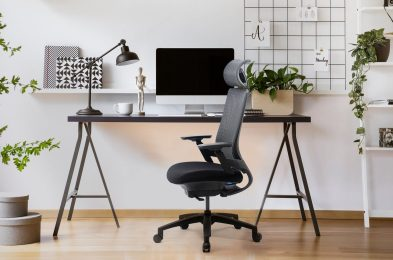 Modern,Computer,On,Table,In,Office,Interior.,Stylish,Workplace