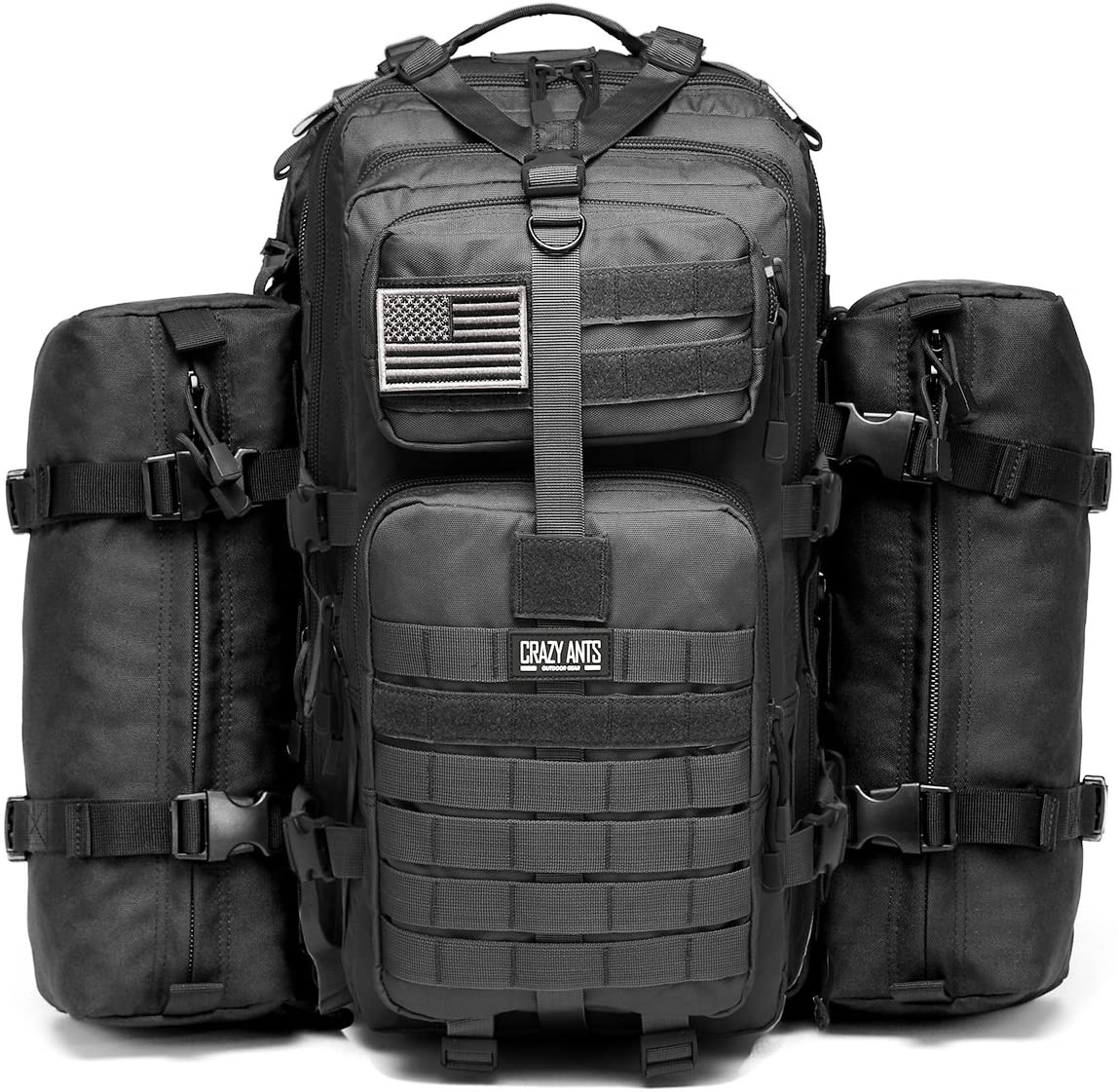 Crazy Ants Military Tactical Backpack; best survival backpack