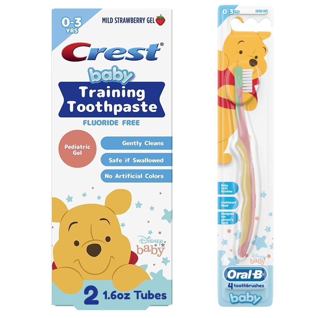Crest & Oral-B Baby Toothbrush and Toothpaste Training Kit