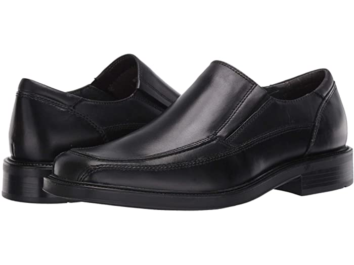 Dockers Proposal Moc Toe Loafers in black; best shoes for wide feet