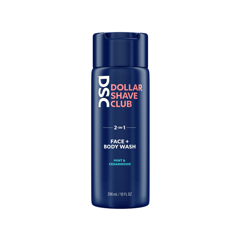 Dollar Shave Club 2-in-1 Face and Body Wash