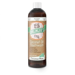 Dr. Ginger's mouthwash, oil pulling