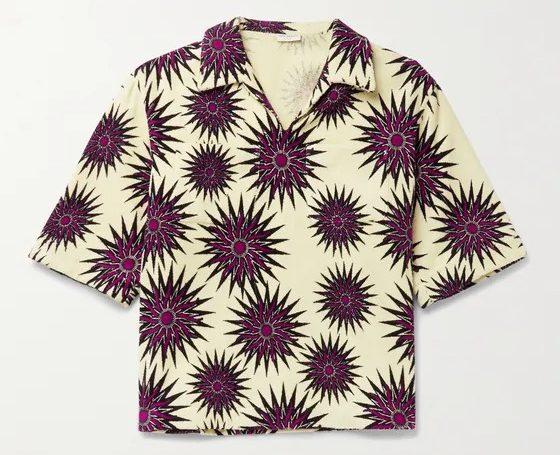 Dries-Van-Noten-Printed-Terry-Polo-Shirt