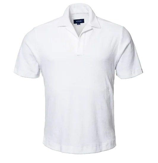 Eton Terry Polo Shirt