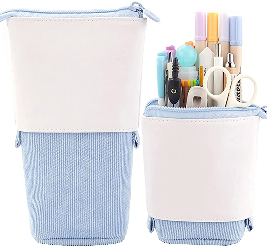 Friinder Pen and Pencil Telescopic Holder Stationery Case