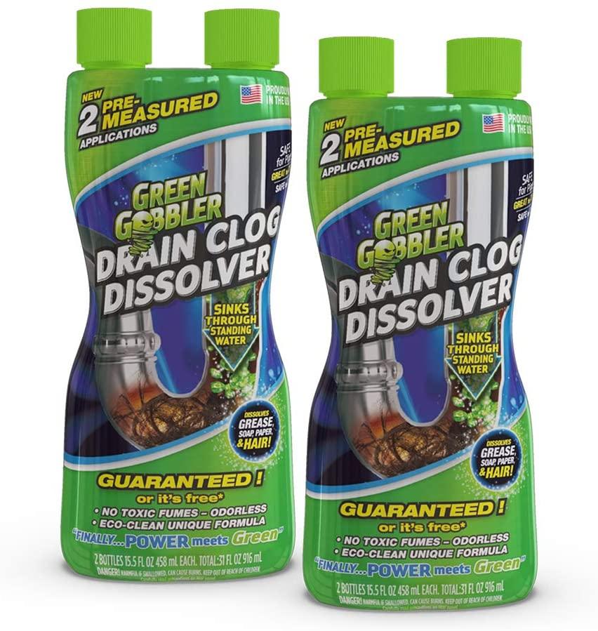 Green Gobbler Drain Cleaner 2-Pack