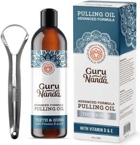 GuruNanda advanced formula pulling oil