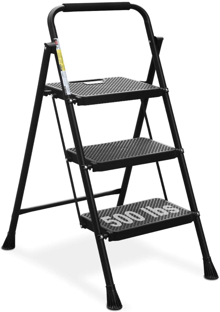 HBTower 3 Step Ladder, best step ladder