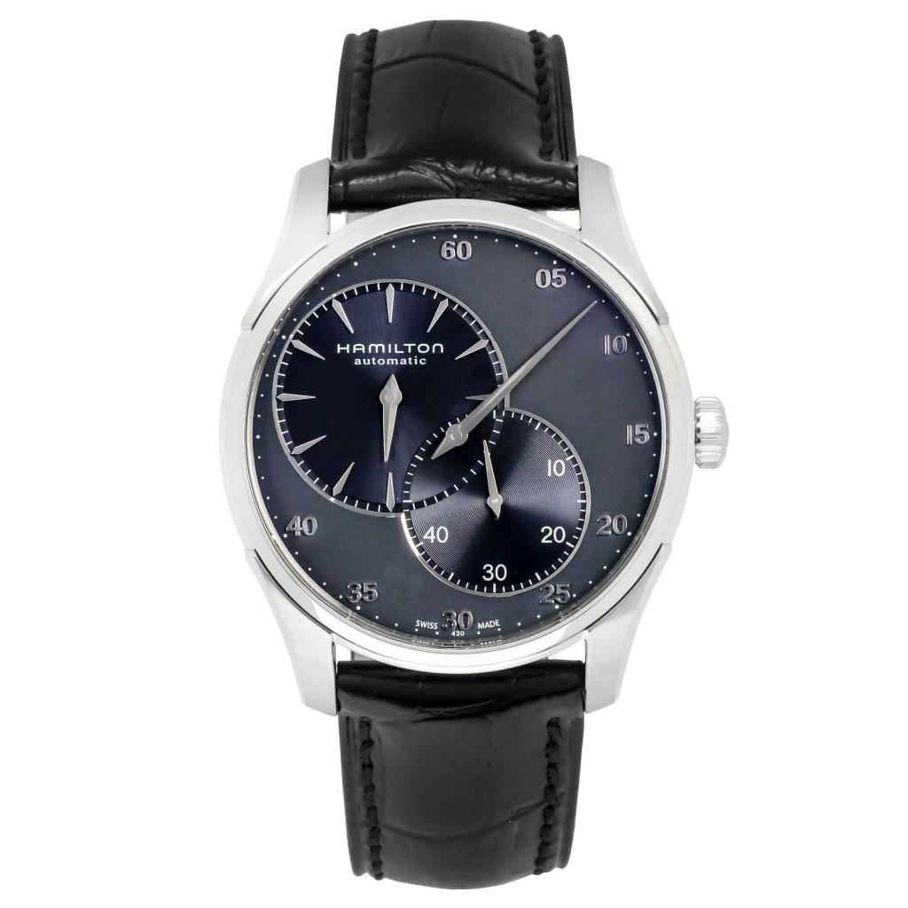 Hamilton-Jazzmaster-Regulator-Blue-Automatic-Watch