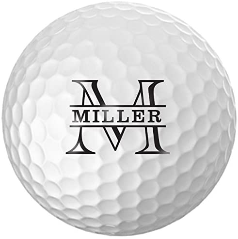 Infusion Personalized Name Initial Golf Balls