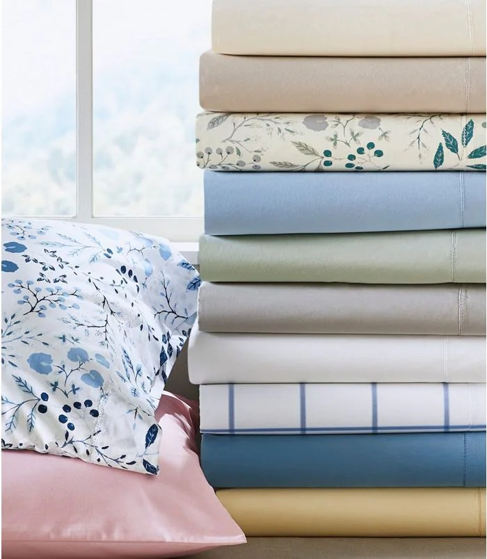 280-Thread-Count Pima Cotton Percale Sheet Set from L.L. Bean