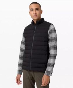 navigation stretch down vest, lululemon fall apparel
