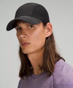 fast and free men's run hat, lululemon fall apparel
