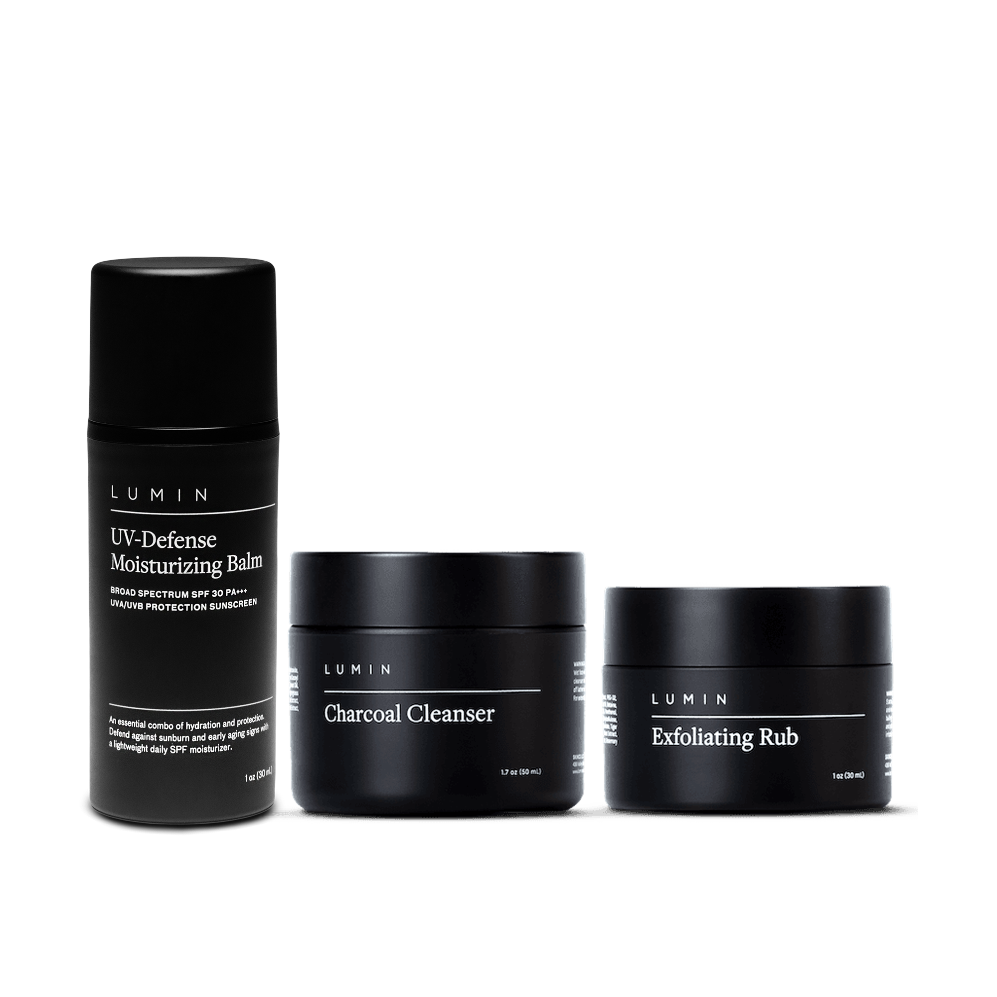 Lumin Classic Maintenance Set with SPF, Best Skincare Subscription Boxes for Men