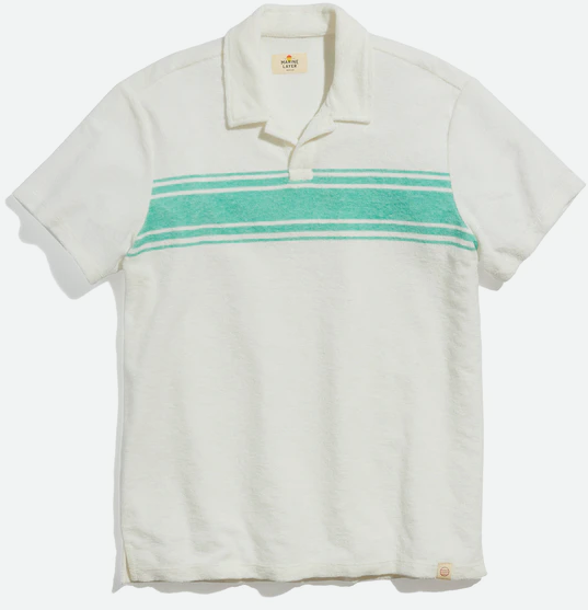 Marine Layer Terry Out Polo