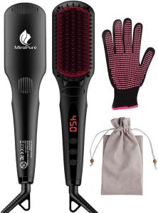 Miropure hair straightener brush, gifts for her
