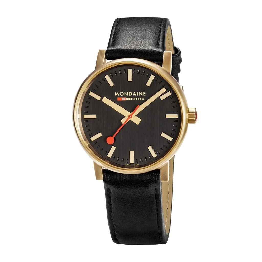 Mondaine-Official-Swiss-Railways-Evo2-Gold-Large-Case-Watch