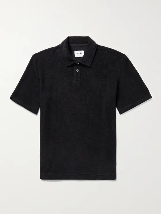 NN07 Alfons Cotton Terry Polo Shirt