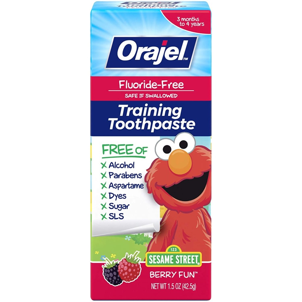 Orajel Elmo FluorideFree Training Toothpaste